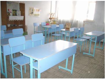 New student desks in Sooser village school in Aragatzotn region